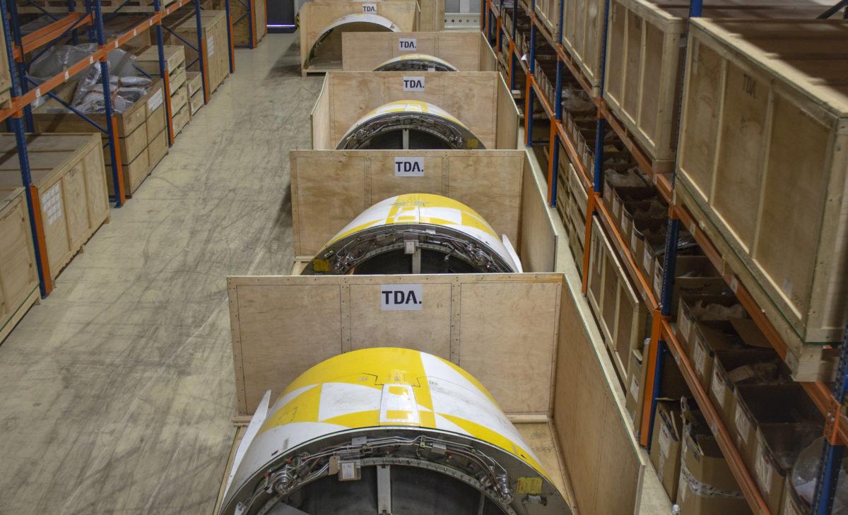 Thrustreversers in logistics at TDA