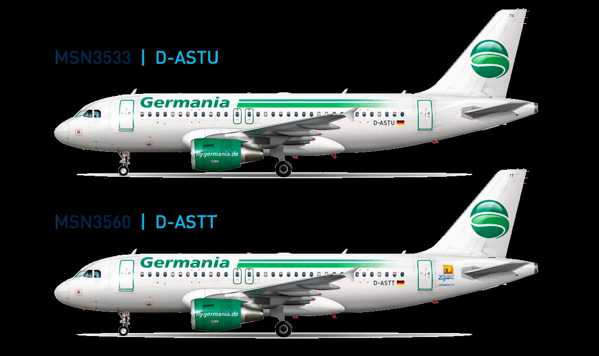 TDA Teardown Germania A319